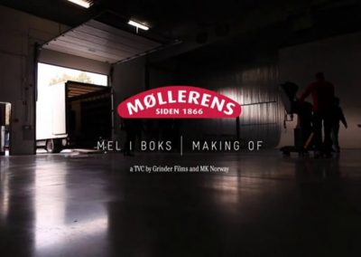 Møllerens Flour BTS in Warsaw
