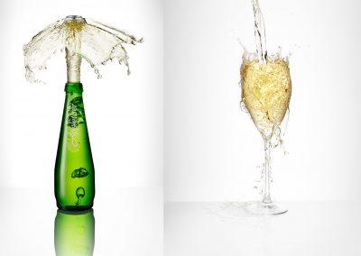 Pour splash