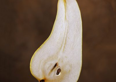 Sliver of pear